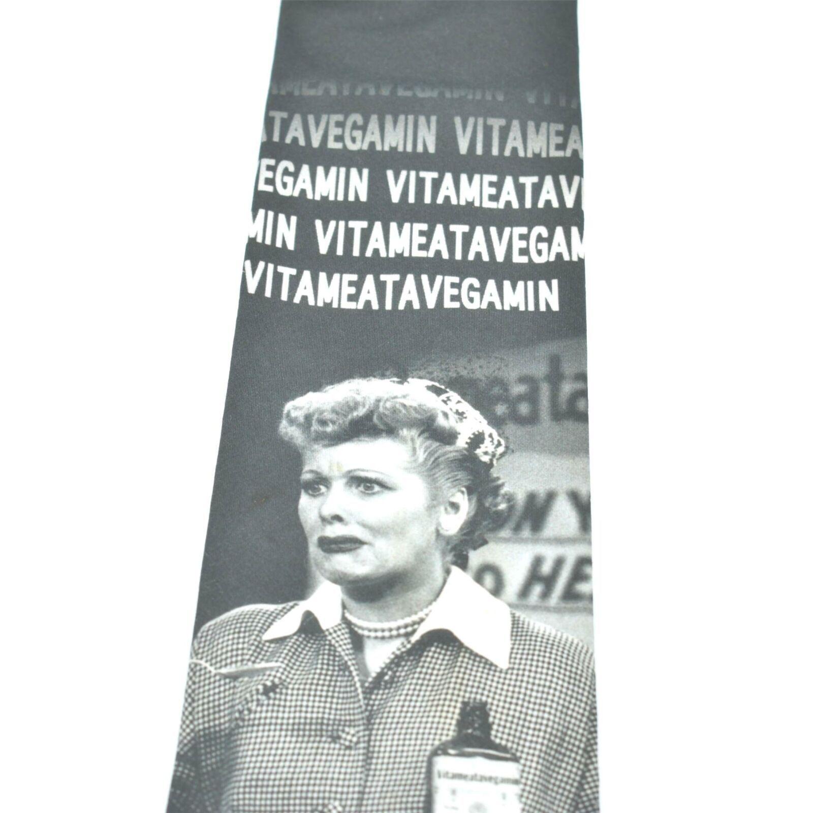 Ralph Martin Lucy Vitameatavegamin Polyester Tie Necktie image 4