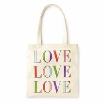 kate spade new york Canvas Book Tote - Love Love Love - £22.72 GBP