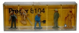 Preiser HO Set of 5 Worker #8104 New