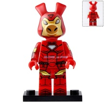 Iron Spider-Ham Marvel Spider-man Lego Minifigures block Toy Gifts - $1.99