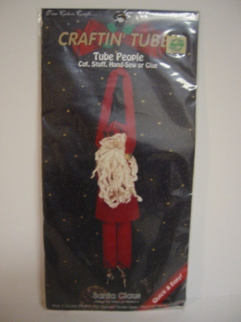 True Colors Crafts Craftin Tubes Santa Claus Kit