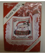 Santa Sacks Counted Cross Stitch Kit  Christmas... - $3.00
