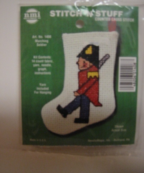 Primary image for Stitch  N Stuff Counted Cross Stitch Kit  Soldier