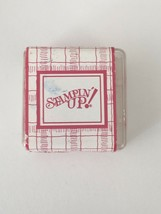 Stampin Up Classic Stampin Spot Rose Red Ink Pad 6310-14 for Stamping Crafts - $4.00