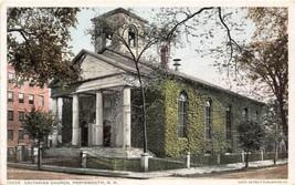 Unitarian Church Portsmouth New Hampshire 1910c Phostint postcard - $6.44