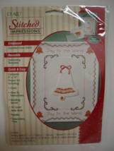 Plaid Counted Cross Stitch Kit Christmas Bell - $9.00