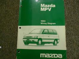 1993 Mazda Mpv Van Electrical Service Repair Shop Manual Factory Oem Book 93 - $7.42
