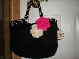 The Sak Flora Crotchet Satchel/Tote-New with tags***PRICE REDUCED*** - $45.00