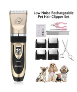 Dog Cat Hair USB Rechargeable Trimmer Electrical Pet Clipper Cutter Groo... - $55.00