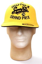 Fox Moto X Super Fox Grand Prix Yellow Cap Hat Adult Fitted 6 7/8 - 7 1/... - $37.12