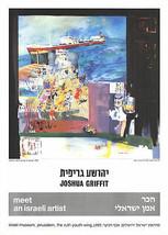 Joshua Griffit-Tel-Aviv, Deck-1985 Poster - £17.94 GBP