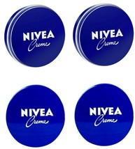 4 Can of 150 mL/ 5 Oz NIVEA CREAM Original Skin Hand CREME moisturizer M... - $18.76