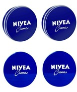 4 Can of 150 mL/ 5 Oz NIVEA CREAM Original Skin Hand CREME moisturizer M... - $18.76