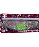 MasterPieces NCAA Texas A&M Aggies, Stadium Panoramic Jigsaw Puzzle, Kyl... - $27.92