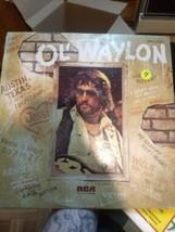 "Ol' Waylon by: Waylon Jennings vinyl Record  LP 12"" Lp used - $5.32"