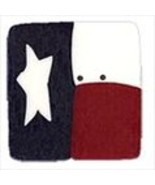 "Large Texas Flag 3443L handmade clay button 1"" JABC Just Another Button Co - $2.00"
