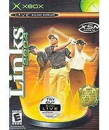 Links 2004 xbox, 2003 Golf E - Everyone Online Enabled FREE SHIPPING U.S.A. - $9.09