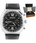 Panerai PAM 288 Radiomir Chronograph 45mm Stainless Automatic Watch PAM0... - $5,293.25