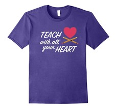 Teacher T-Shirt Teach Back to School Gifts Kindergarten Men - $17.95+