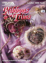 Ribbon Trims Exclusively for Leisure Arts 1669 Suzanne McNeill Designs - $2.96