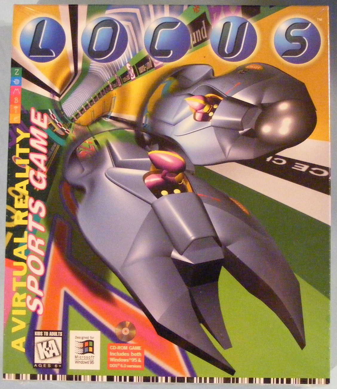 Primary image for 1995 Locus Virtual Reality PC Game