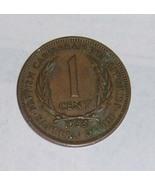 1955 British Caribbean Territories Eastern ONE ... - $11.99