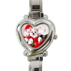 CHRISTMAS CHIHUAHUA DOG BARREL WATCH 9 OTHER STYLES SPORTS,