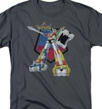 Voltron t-shirt Defender Robot retro 80's animation TV graphic tee DRM117B image 3