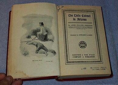 The Little Colonel in Arizona Annie Johnston 1904 Series Book