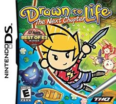 Nintendo DS Drawn to Life The Next Chapter w/ case(no manual) - $9.99