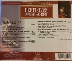 Beethoven Piano Concertos by Classical Treasures Cd image 2