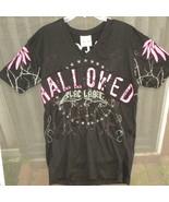 Mans T Shirt Blac Label Large Gothic Hallowed B... - $10.00