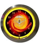 Game Room Bar Neon Clock Set Of 4 New Billiards 8 Ball 9 Ball 15 Inch Di... - $247.38