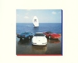 1992 Chevrolet CORVETTE sales brochure catalog 92 Chevy ZR-1 - $12.00