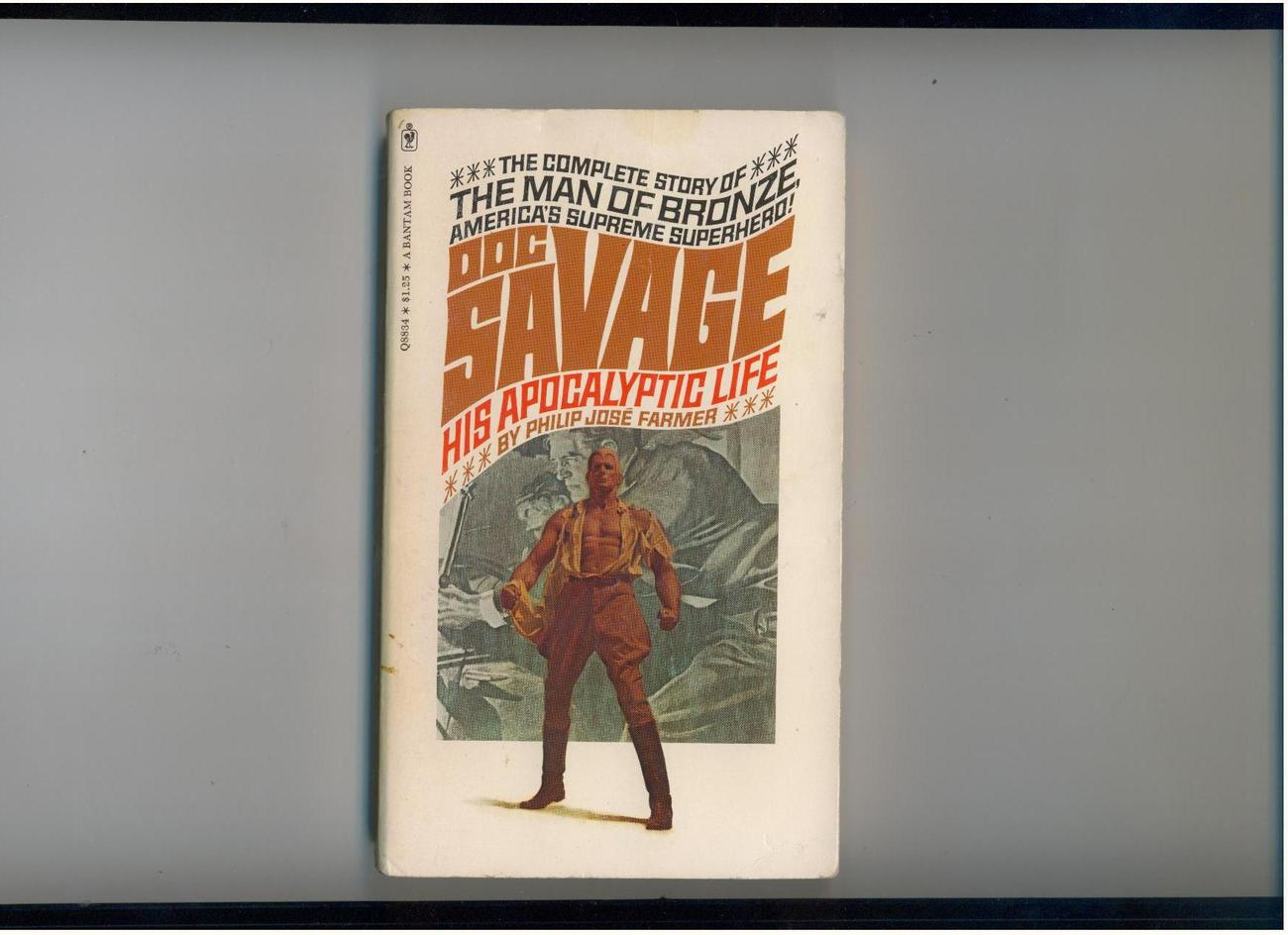 Farmer  DOC SAVAGE: HIS APOCALYPTIC LIFE  1975  1st pb pr.