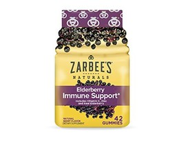 Zarbee's Naturals Elderberry Immune Support* Includes Vitamin C, Zinc, a... - $12.48