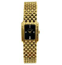 Wittnauer Gold Tone Steel Diamonds Swiss Quartz Womens Watch - $299.00
