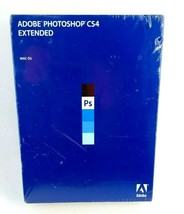 Adobe Photoshop CS4 Extended Mac OS Software New Sealed - $197.98
