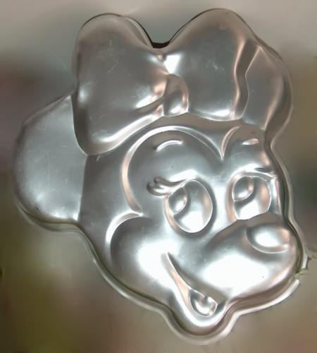 Vintage Wilton Cake Pan Minnie Mouse Face 515 809 Cake Pans