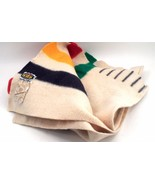 1995 Hudson's Bay 325 Year Anniversary 6 Point 100% Wool Classic Stripe ... - $267.25