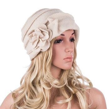 2cdeaa5cf5829 New Fashion Elegant Ladies Hats Winter Beret Casual Cloche Cap Women Wool  Beanie