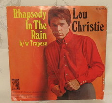 Lou Christie Rhapsody In The Rain/Trapeze 45 w/ sleeve 13473 - $19.99