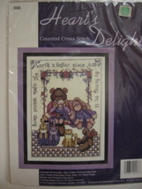 Hearts Delight Counted Cross Stitch Kit Special People - $9.00