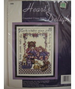 Hearts Delight Counted Cross Stitch Kit Special... - $9.00