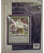 Hearts Delight Counted Cross Stitch Kit Lifes Little Rules - $15.00