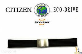 Citizen Eco-Drive Skyhawk U600-S041341 21mm Schwarz Gummi Uhrenarmband - $132.27