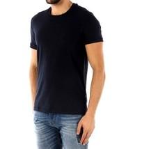 Dolce & Gabbana T-shirt R neck Black ribbed cotton D&G new t-shirt M rp £78 - $55.52