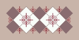 Latch Hook Pattern Chart: Readicut #963 Dorland 27x54 - EMAIL2u - $6.95