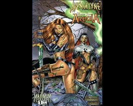 1996 Avengelyne/Warrior Nun Areala #1 VF All Color - $3.00