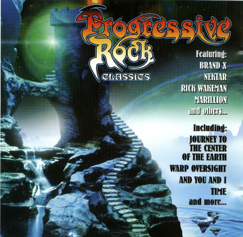 Progressive Rock Classics CD NM OOP Rick Wakeman